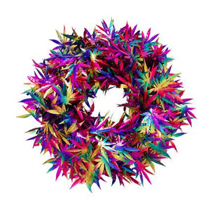 420 Limited Edition Multi-Color Holo Wreath