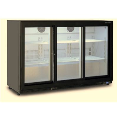 Sliding Three Door Backbar Chiller