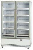 Double Glass Door Upright Chiller - Bottom Mount, Activecore