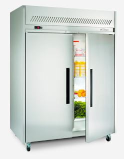 Garnet Gastronorm Upright Chiller Cabinet - Stainless Steel
