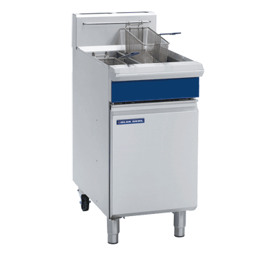 GT46 - 450mm Vee Ray Twin Pan Gas Fryers