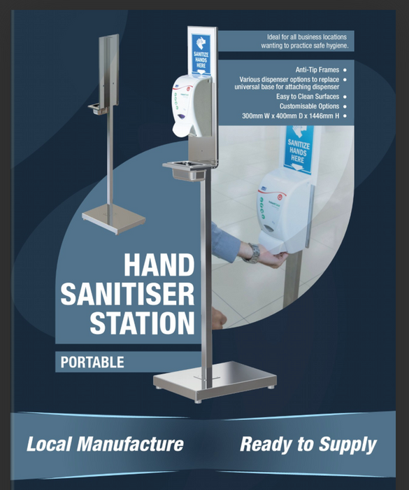Hand Sanitiser Station (without Dispenser)