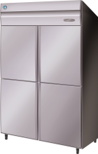 Upright Freezers - Stainless Steel