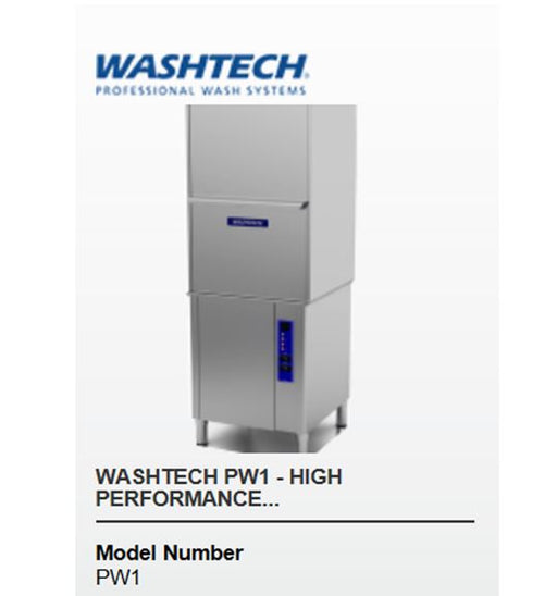 Front Loading Warewasher & Potwasher