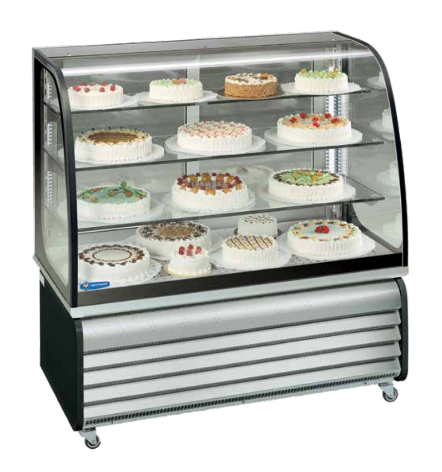 Brio Chilled Floor Standing Food Displays