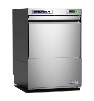 Washtech UD - Professional Undercounter Glasswasher / Dishwasher - 500mm Rack