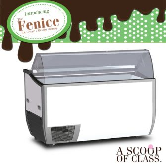 Sliding Glass Gelato Freezers