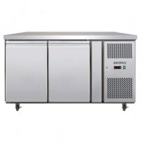 S/Steel Two Door Undercounter Chiller