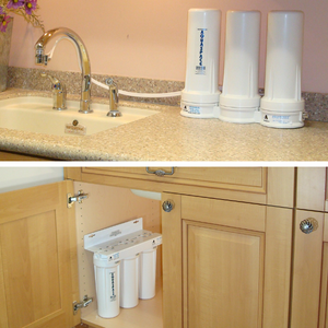 Countertop VS Under the Sink Water Filter