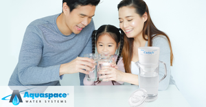 Aquaspace Carafe Water Filter Pitcher