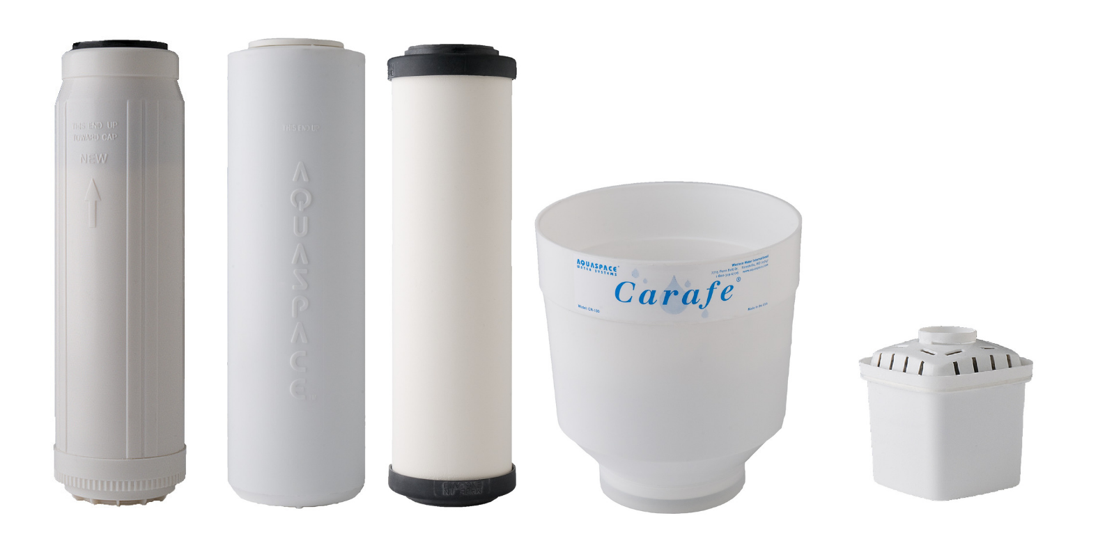 Aquaspace Water Systems Premium Water Filters With Nasa