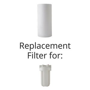 "Sediment Big White 10"" Replacement Cartridge"