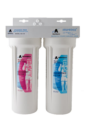 AQUARIUS™ TWIN - Under the Sink Filter : AQ-125NC