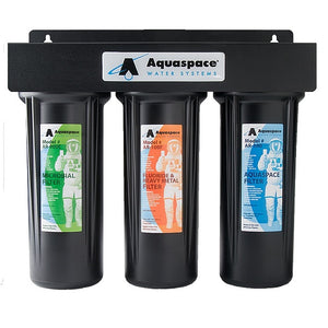 AQUARIUS TRIPLE PLUS Under the Sink Water Filter