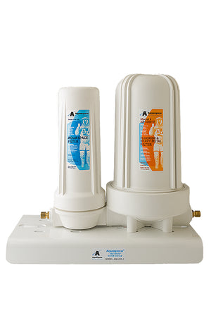 AQUARIUS BIG WHITE™ In-Line with Fluoride Reduction Cartridge w/ Uni-Bracket (No Faucet)