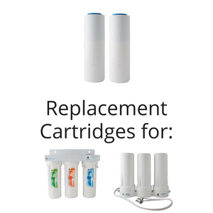 Fluoride & Heavy Metal Reduction Replacement Cartridge
