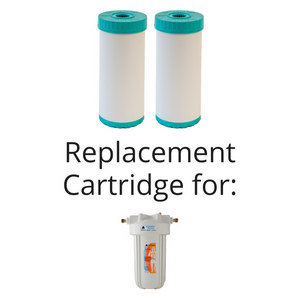 Fluoride & Heavy Metal Reduction Big Blue Replacement Cartridge