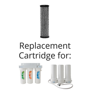 "Microbial NanoCeram 9 ¾"" Replacement Cartridge"