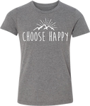 Youth Happy Mountains Tee