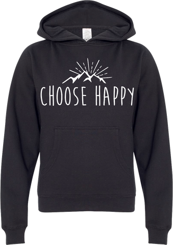 Youth Happy Mountains Hoodie
