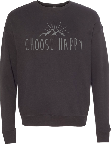 Happy Mountains Crewneck