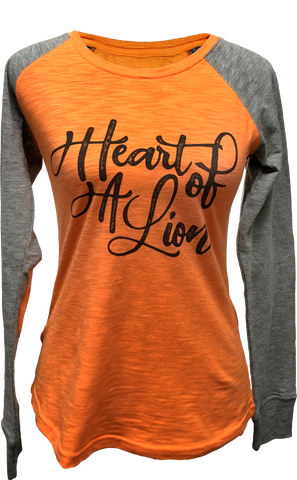 Heart Of A Lion Long Sleeve Tee