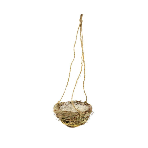Hanging Bird Nest,  Nest for Eggs, Dragon Nest, Sleeping Fairy Nest, Fairy Garden Accessory