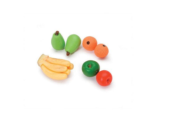 Miniature Fruits,  Dollhouse Miniature Fruit, Dollhouse Food, Miniature Kitchen Supply, Miniature  Fruit for Dollhouse Bowl or Basket