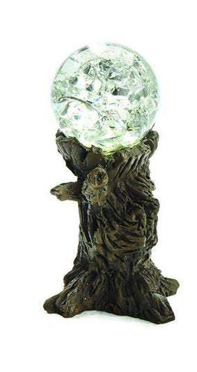 "Choice of Fairy Garden Gazing Ball, 2"" Blue Gazing Ball or Clear Gazing Ball, Crackled Gazing Ball"