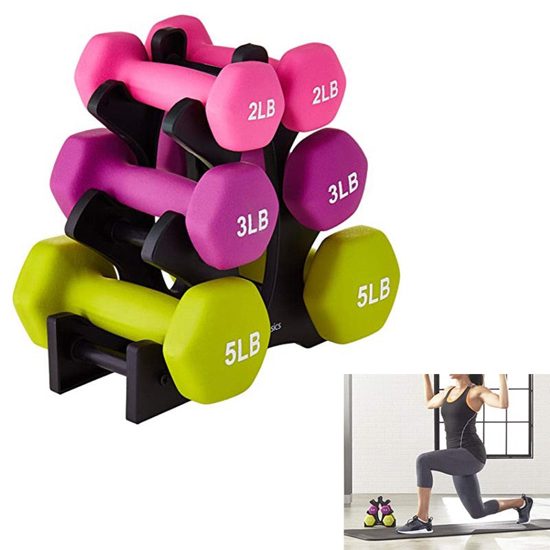 Gym Dumbbell Rack Stands Holder Dumbbell Floor Bracket Home Exercise Accessories for Weight Lifting Dumbbells not send