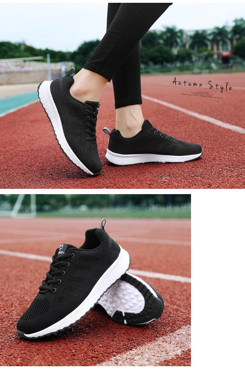 Womens Breathable Anti-slip Sneakers