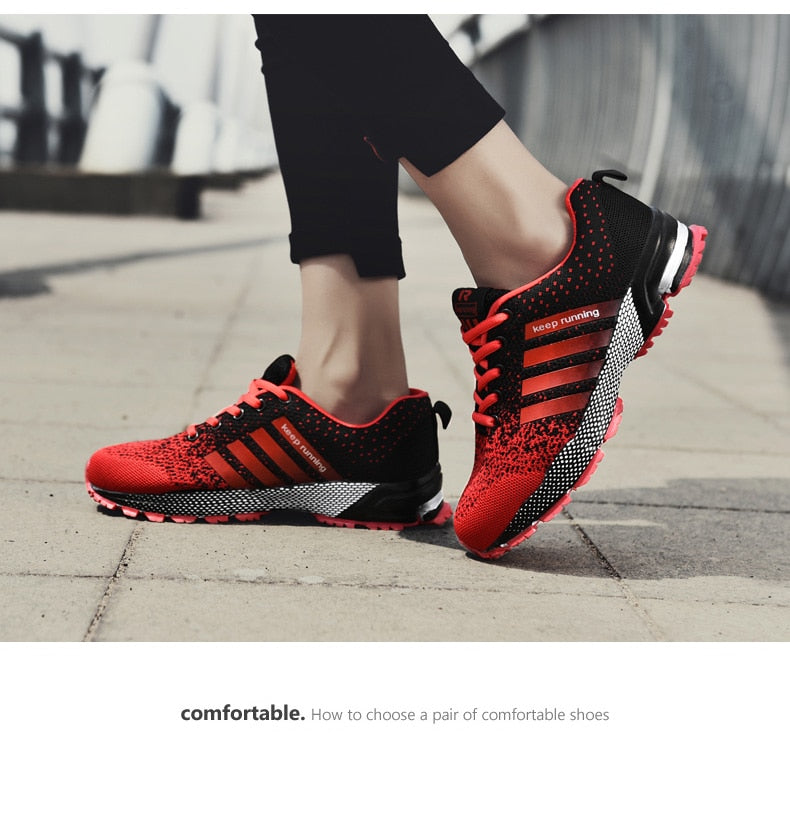 Mens Breathable Gym Sneakers