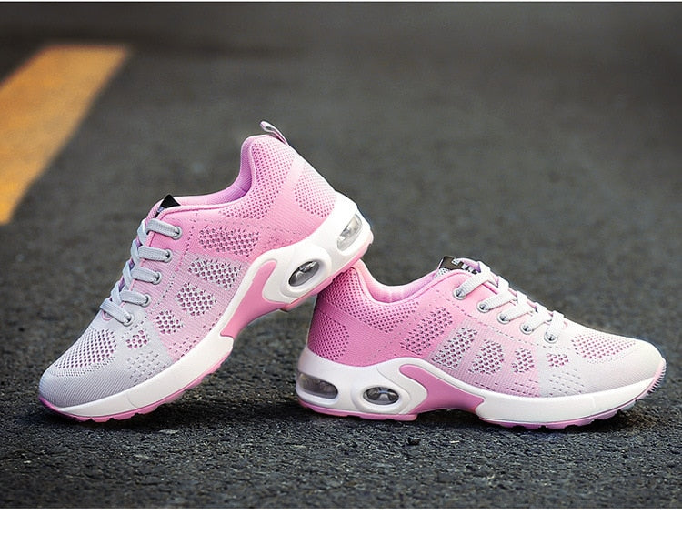 Womens Breathable Gym Sneakers