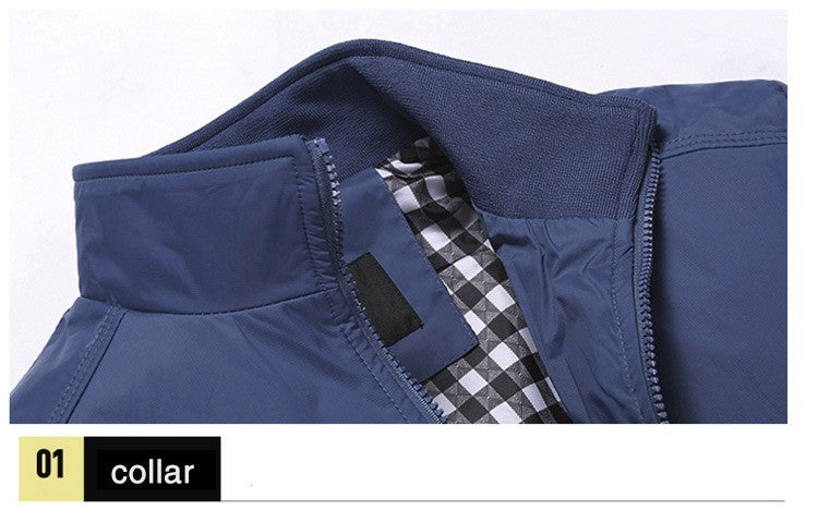 Mens Casual Sportswear Jacket