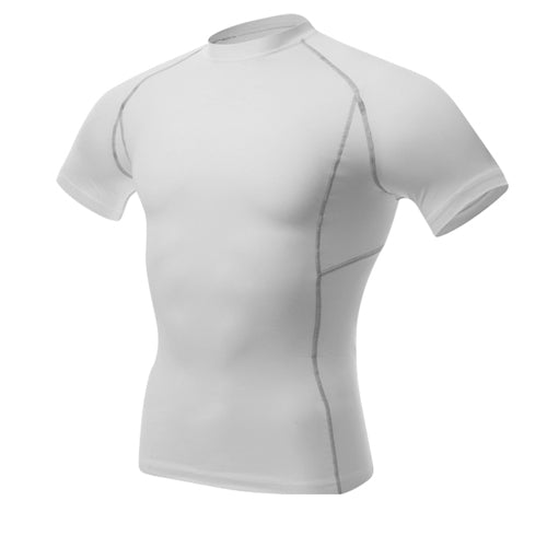 Quick Dry Rashgard Men Compression Tennis Jersey Tight