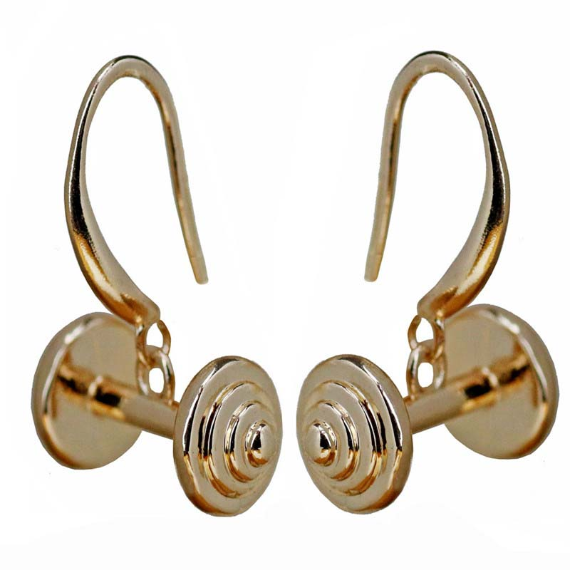 Dumbell Drop Earrings