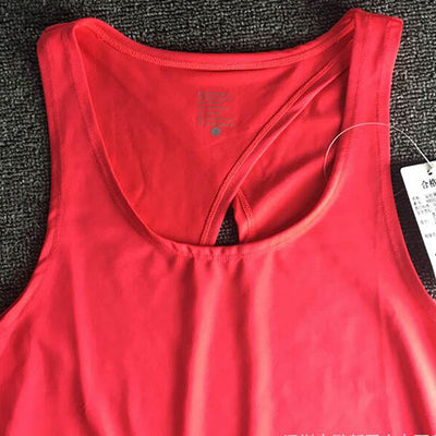Women Yoga Tank Dry Quick Loose Fitness Top