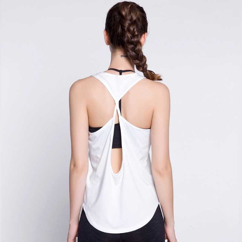 Women Quick Dry Fitness Tops Summer Sexy Tank For Exercise Women's Clothing