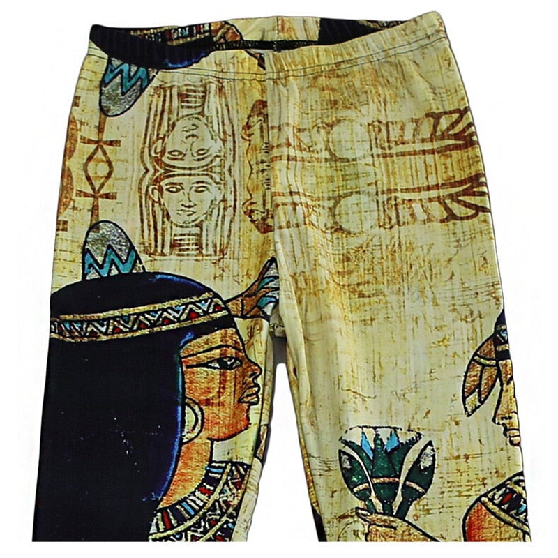 Womens Pharaoh Printed Leggings