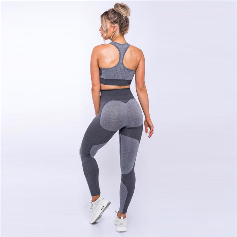 OVESPORT Push Up Pants - Fitness High Waist Elastic Leggings.