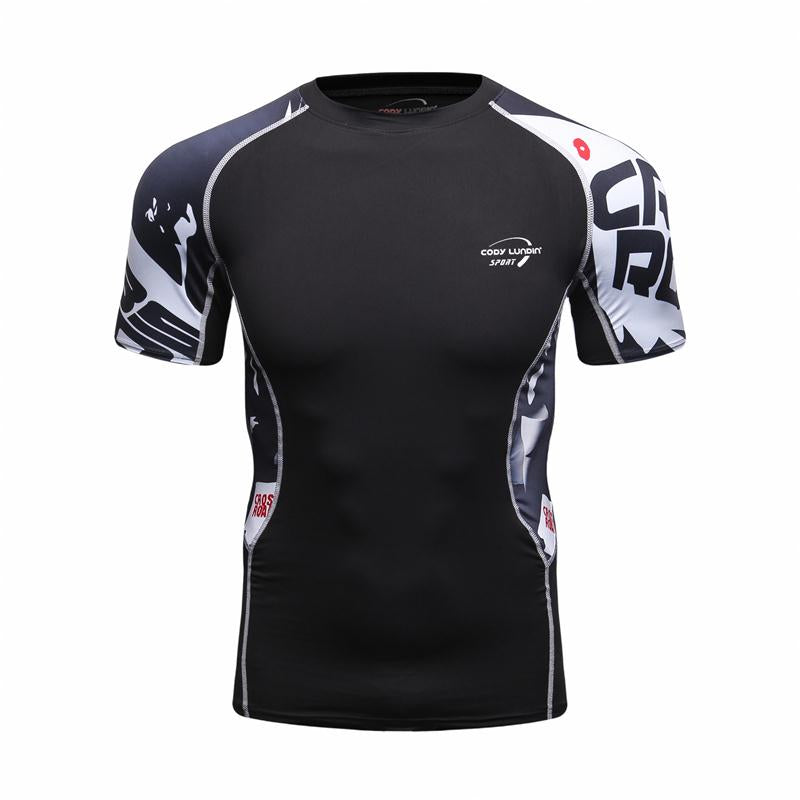 Mens Compression Short Sleeve Jersey