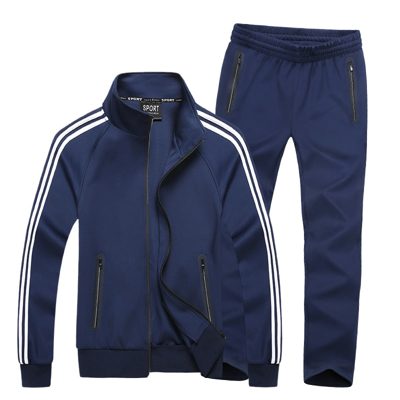 Mens Loose Fitted Workout Tracksuit