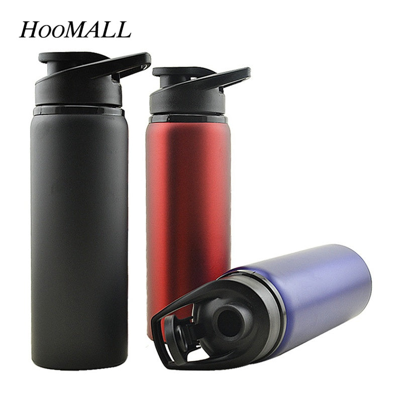 Hoomall 700ml Large Capacity Stainless Steel Sports Water Bottle