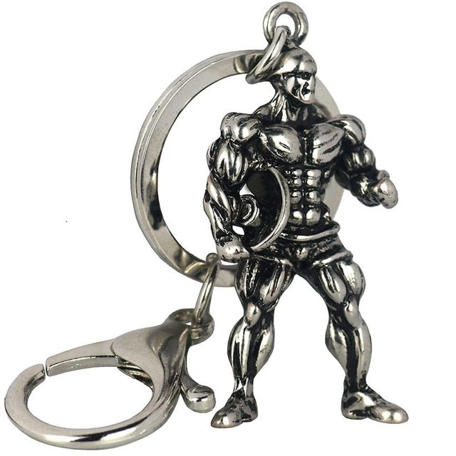 Fitness Man Key Chain