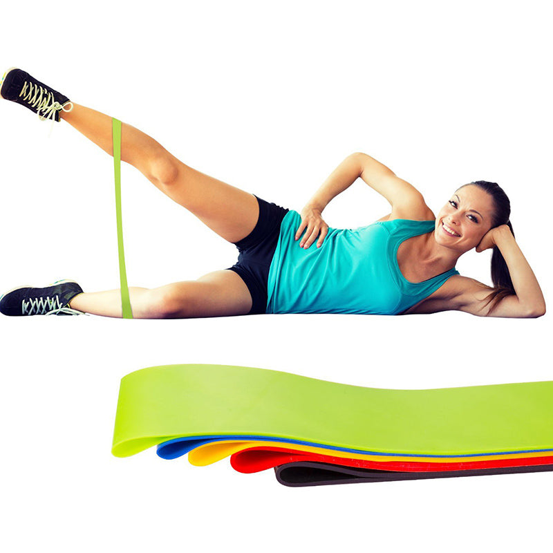 500mm Stretching Physical Therapy Workout Elastic Loop Band for Home Fitness