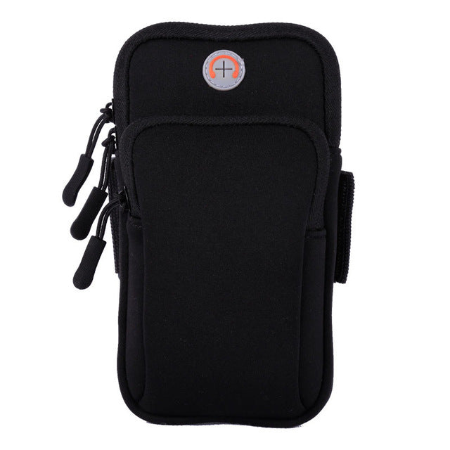 Tfshining Sport Arm bags Case -  Zippered Fitness Running Phone Bag Pouch