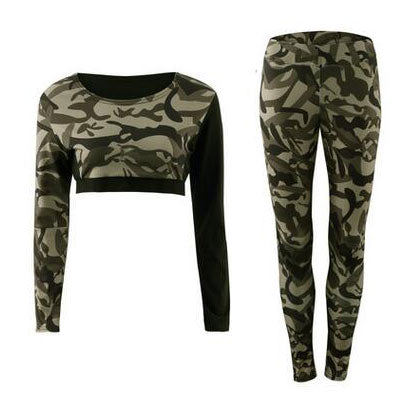 Women Yoga Leggings + Yoga Shirts
