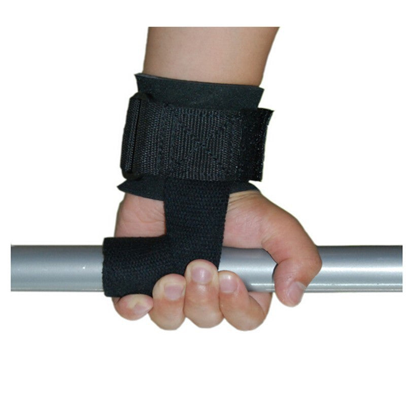 ALBREDA1Pair Barbell Straps Wraps Hand Wrist Support