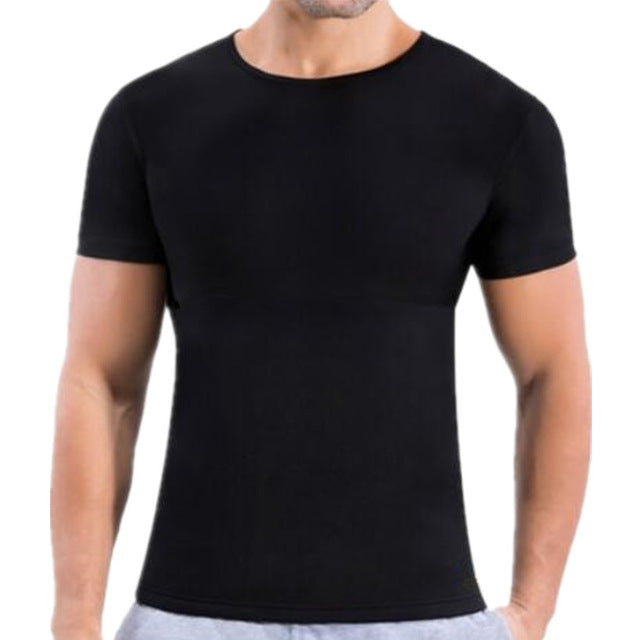 Mens Bodybuilding Thermal Compression Shirt