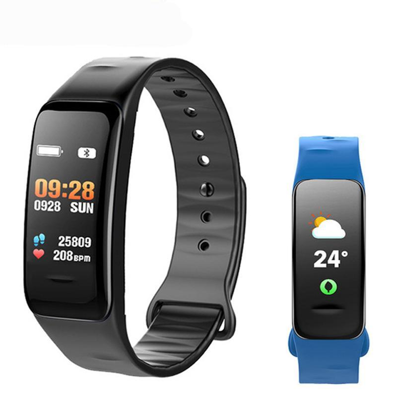 KESHUYOU C1S  bluetooth fitness tracker watch, heart rate monitor, sleep tracker.